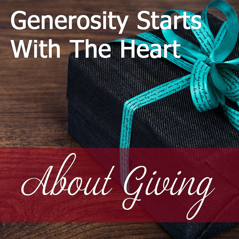 Does It Matter How Much You Give?