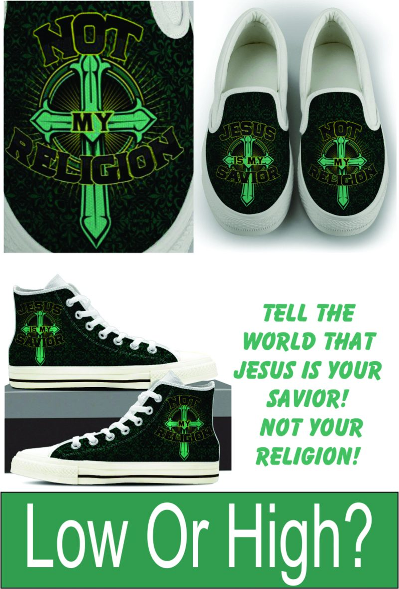 Jesus Is My Savior! Not My Religion!
