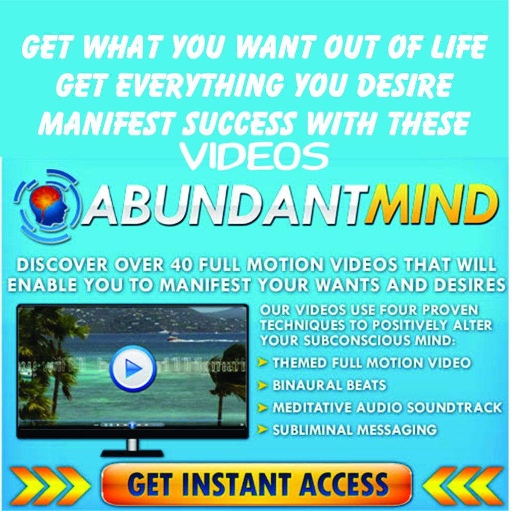 Get An Abundant Mind